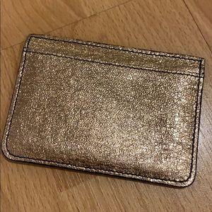 Rose gold Dannijo card holder